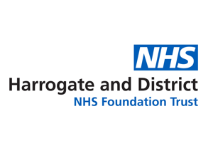 NHS Harrogate Logo